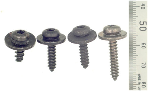 Low strength joint screws